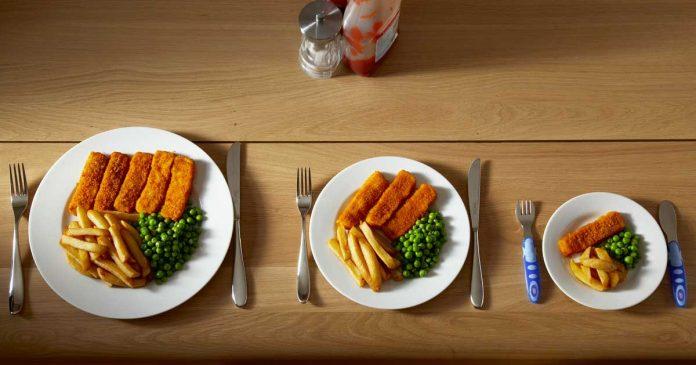 Makanan yang sama setiap hari