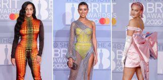 gaun-terburuk-brit-awards-2020