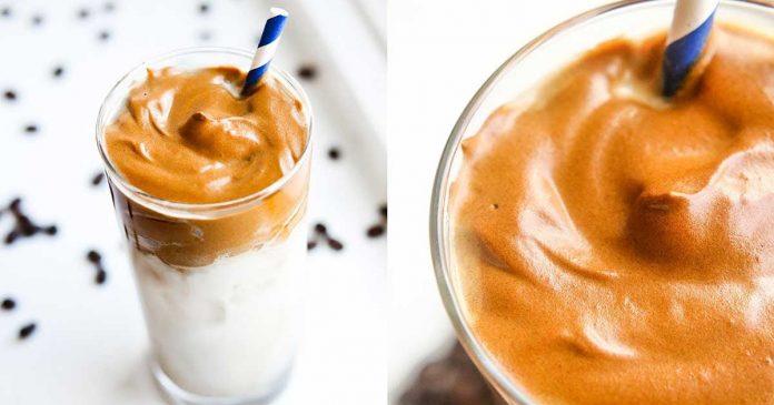 Tips dalgona coffee