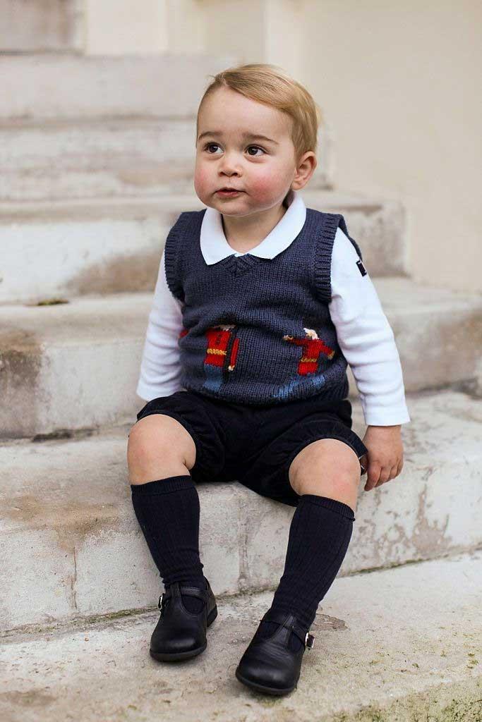 foto masa kecil pangeran george
