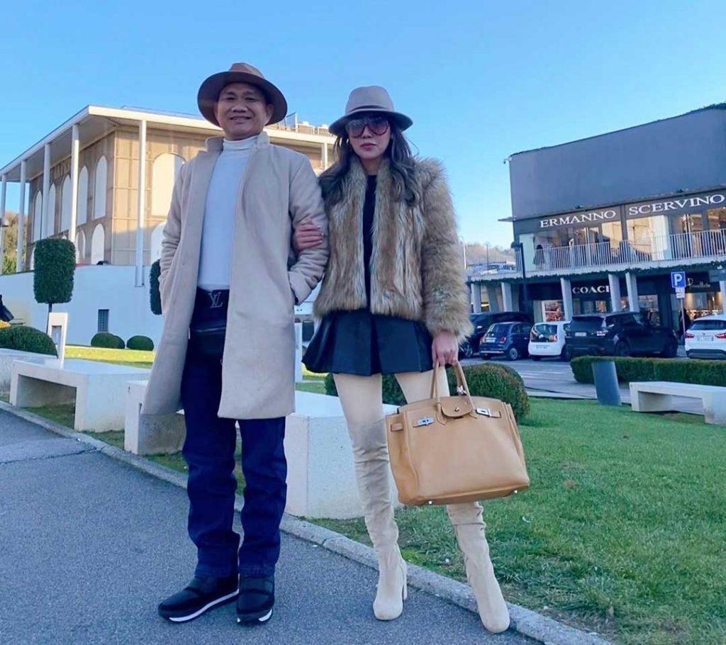 gaya-bella-shofie dan suami daniel rigan