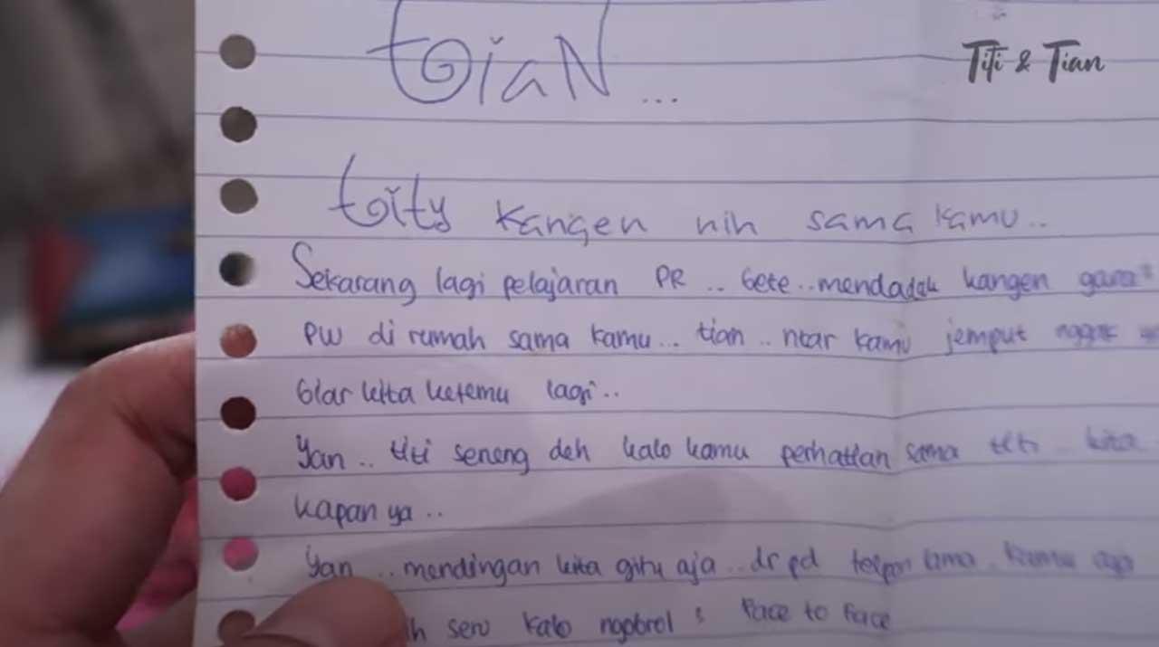 Surat Cinta Titi Kamal 2 Nyata