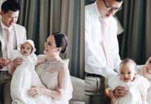 anak-shandy-aulia-dibaptis