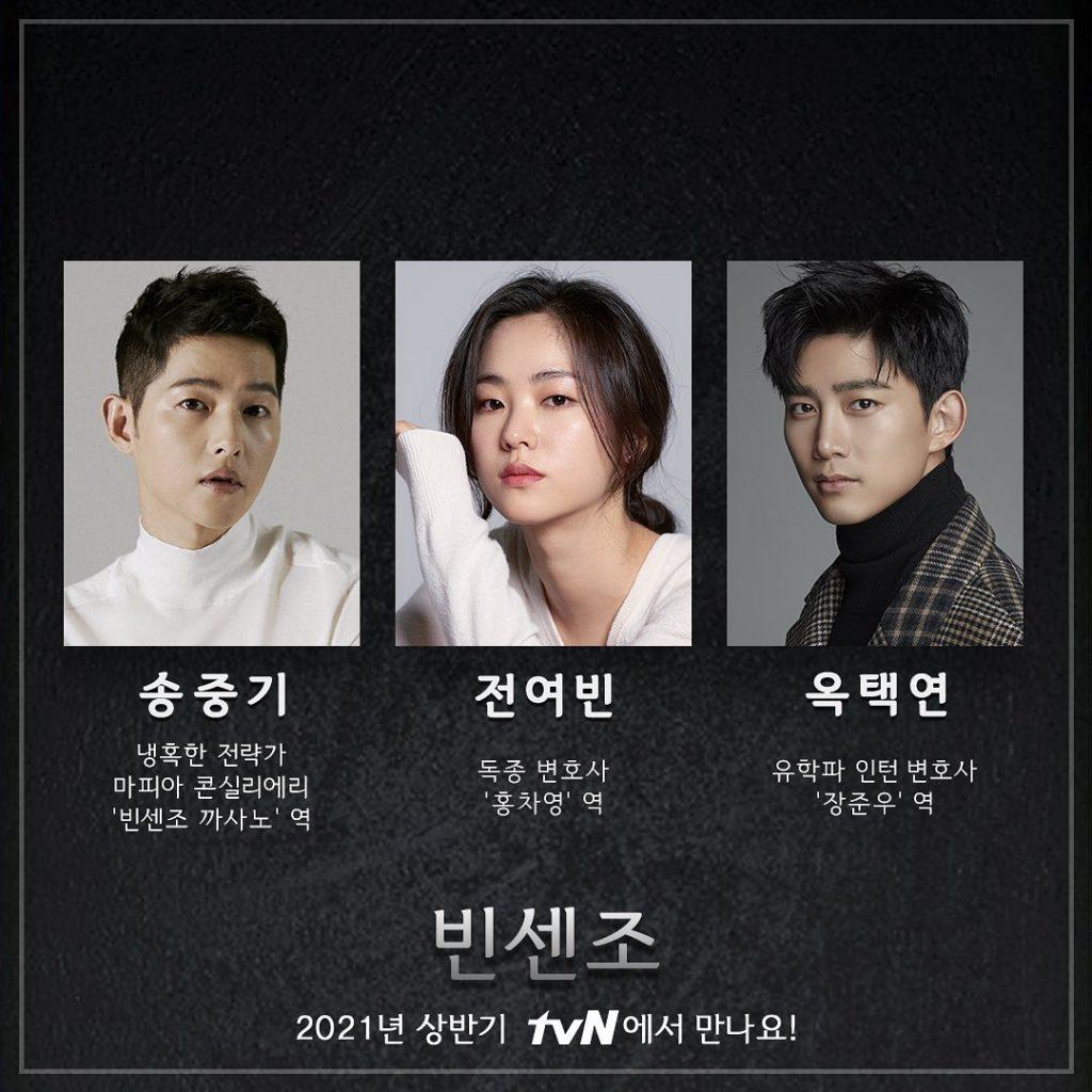 drama korea drakor song joong ki terbaru 2021 vincenzo