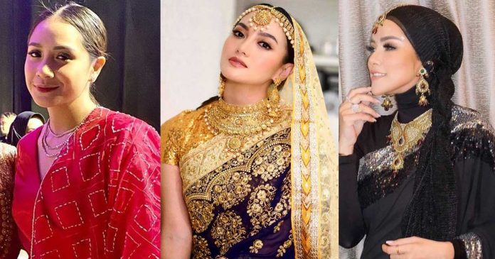artis-baju-india-pakai-aurel-hermansyah-henna-night