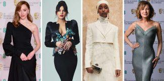 best-dress-gaun-terbaik-busana-bafta-2021 awards