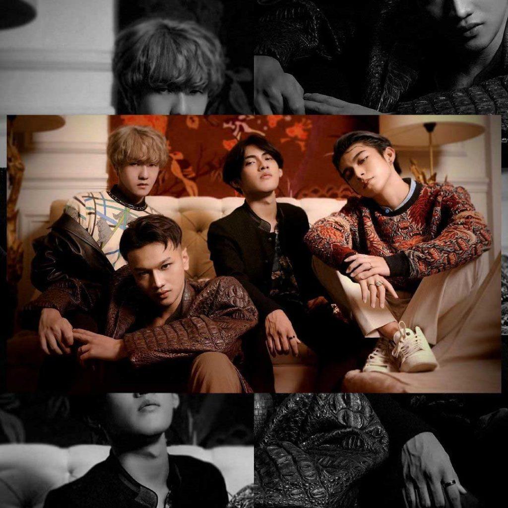 foto boyband indonesia dope mirip taehyung V bts