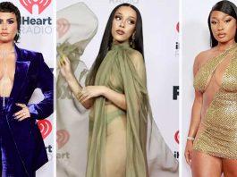 gaun gaya terbaik di iheartradio music awards 2021