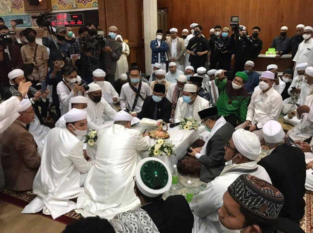 adik alvin faiz ameer azzikra menikah