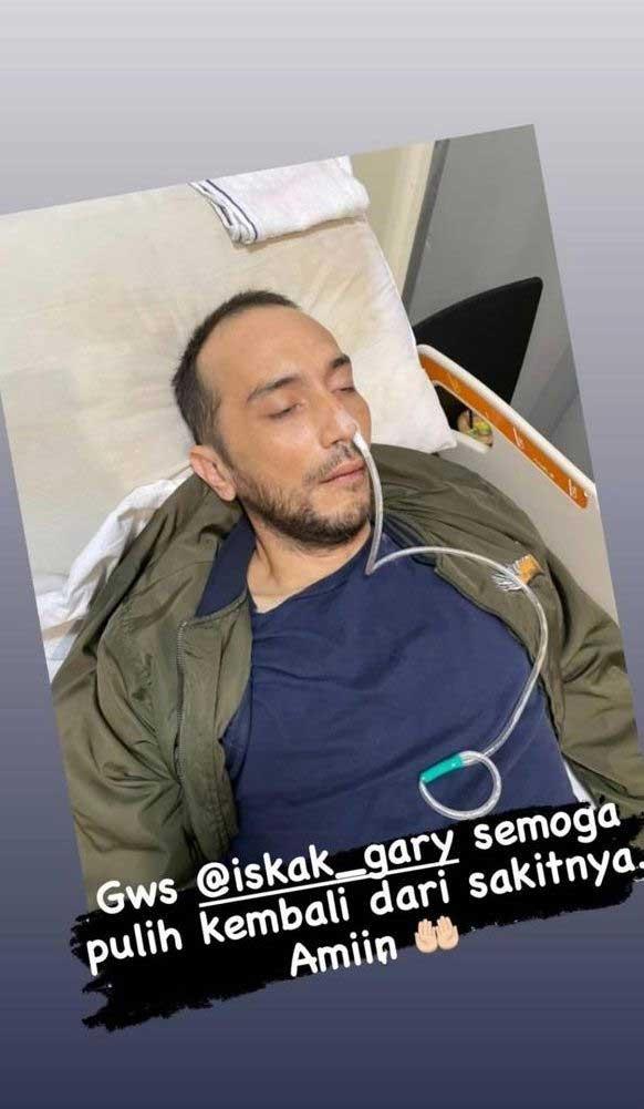 gary iskak sakit kanker hati sirosis
