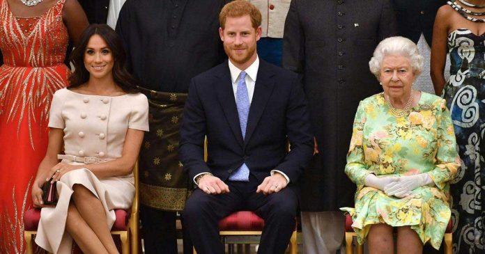 lilibet diana bertemu ratu elizabeth anak ke dua meghan markle dan pangeran harry