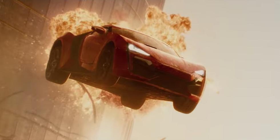 mobil fast & furious lykan hypersport 1