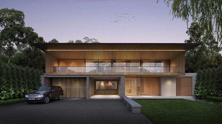 tampak depan rumah baru rezky adhitya dan citra kirana