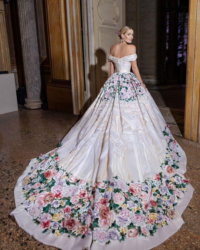 gaun pernikahan lady kitty spencer pengantin