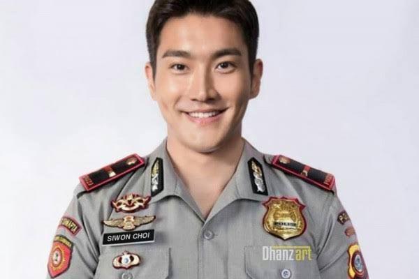 choi siwon foto editan polisi