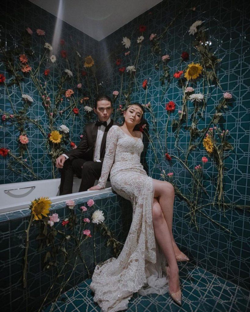 foto mesra amanda manopo dan chris laurent 3 pre wedding