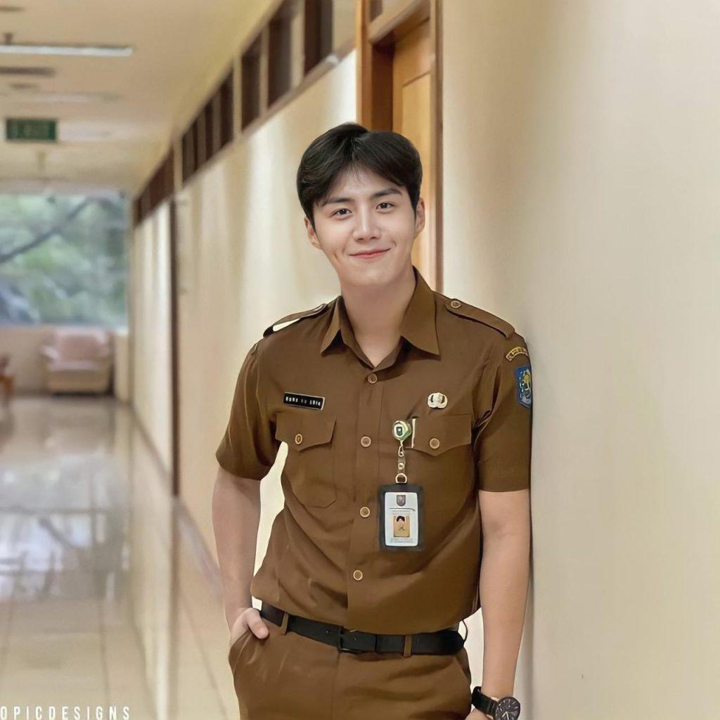 kim seon ho PNS foto editan edit seragam indonesia profesi idol artis korea viral