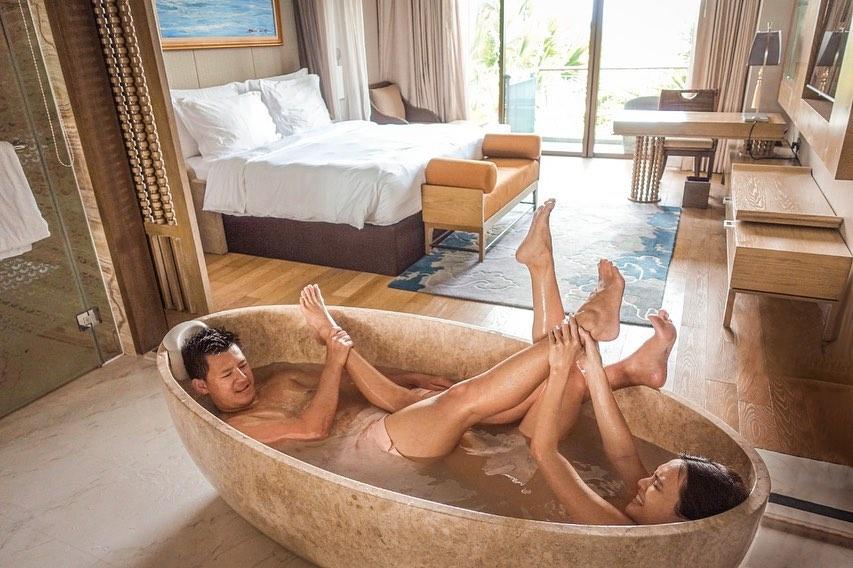 foto mesra shandy aulia dan david herbowo suami 1